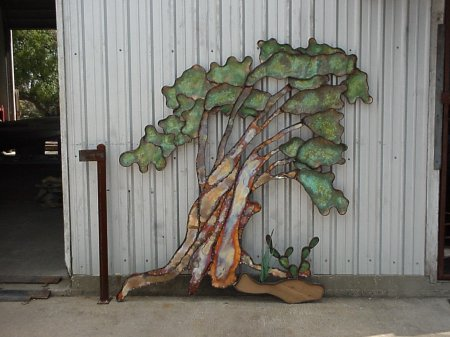 Windswept Oak Wall Sculpture